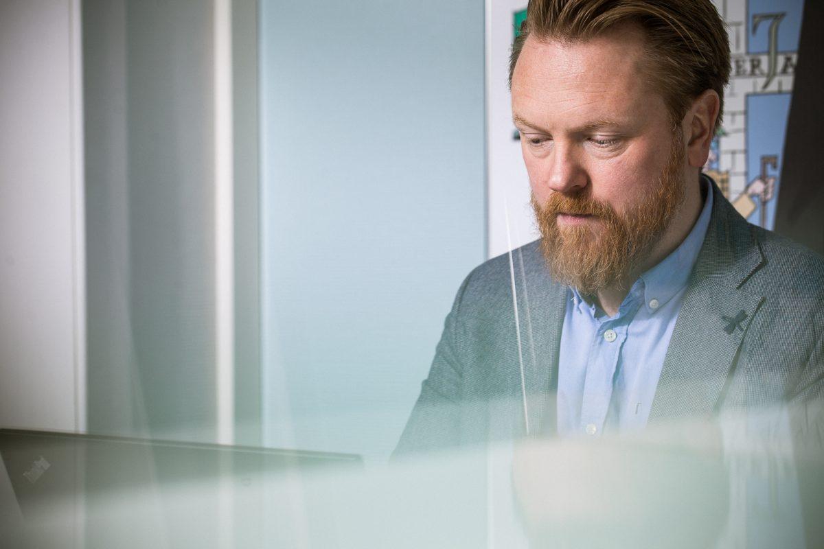Stian Lyberg rådgiver og partner PR-Operatørene
