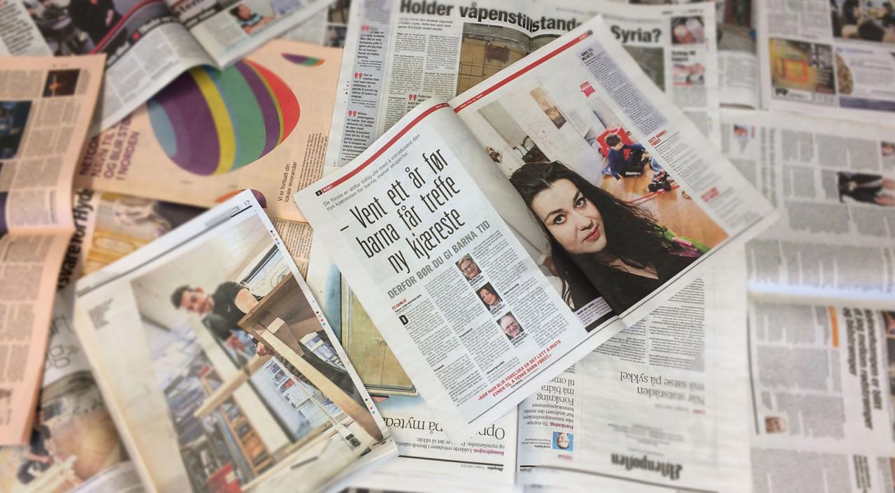 dagens aviser