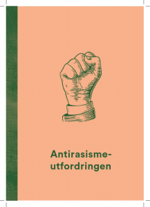 """Bilde av rapporten """"Antirasismeutfordringen"""""""