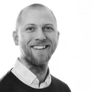 Prosjektleder i ByKuben, Kristian Vea.