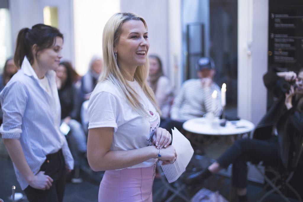Vibeke Klemetsen som ambassadør for Alpro på pressefrokost februar 2017